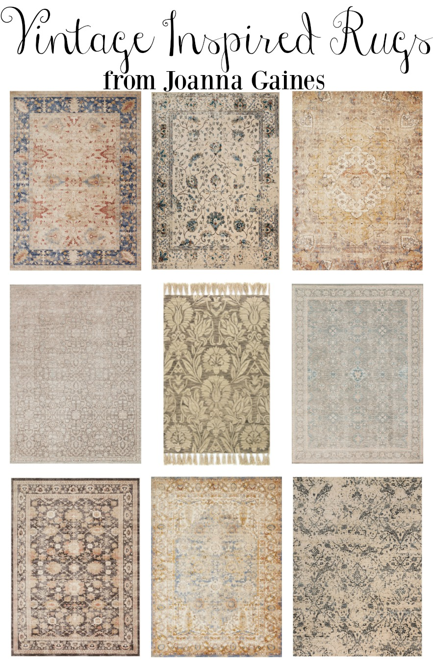 Vintage inspired area rugs for Vintage style area rugs