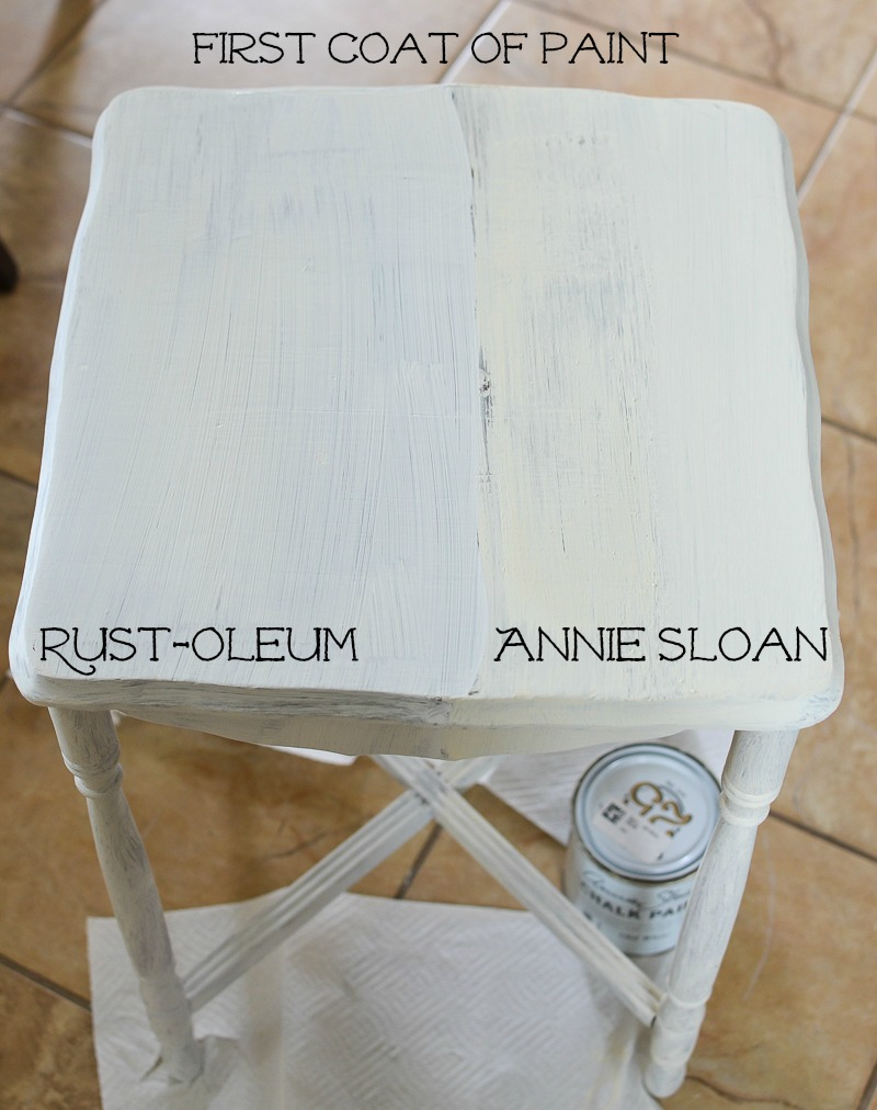 Rustoleum Chalk Paint Clear Coat
