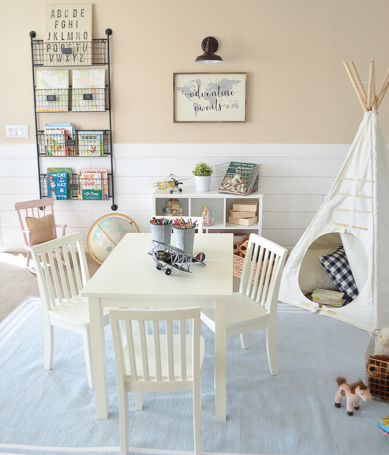 Playroom: Modern Farmhouse Playroom