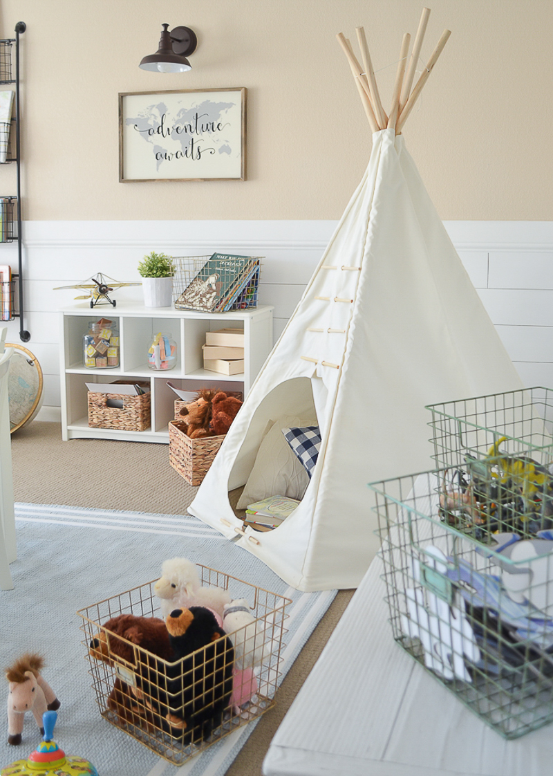 17 Best Images About Kids Bedrooms On Pinterest: Modern Farmhouse Playroom