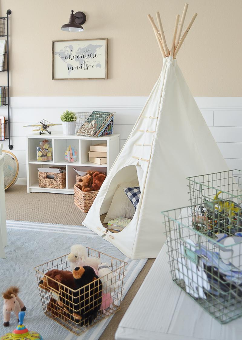 Modern Farmhouse Playroom