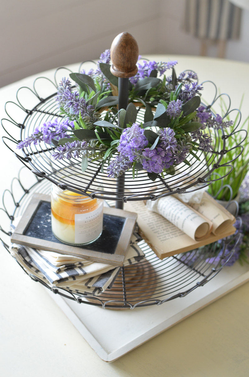 Farmhouse Style Tiered Tray