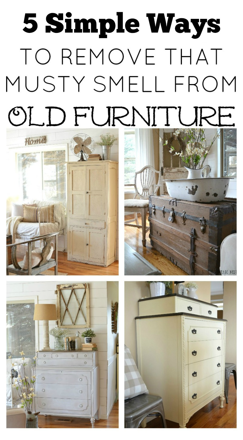 5 Simple Ways to Remove that Musty Smell from Old Furniture. Easy tips and  tricks