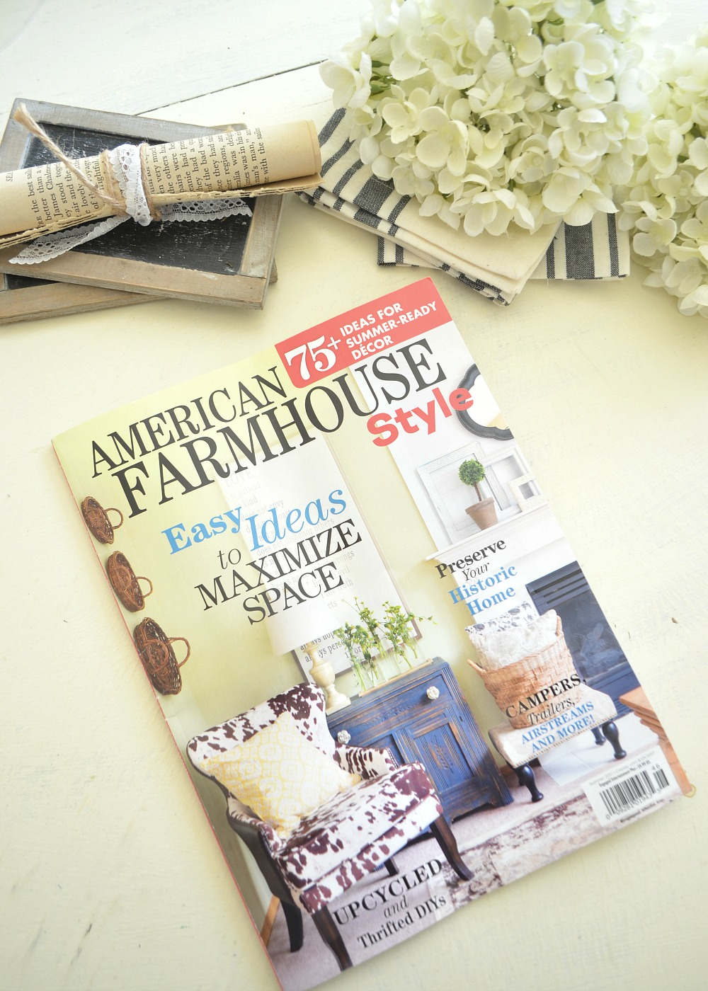 My Home in American Farmhouse Style Magazine