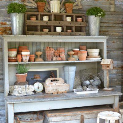 Friday Favorites: Wood Cutouts & Vintage Gardens