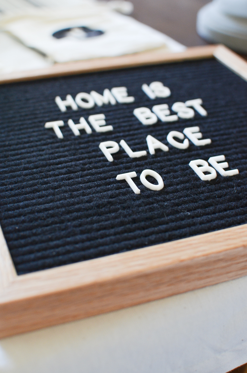 5 ways to use a letter board. Black Bedroom Furniture Sets. Home Design Ideas