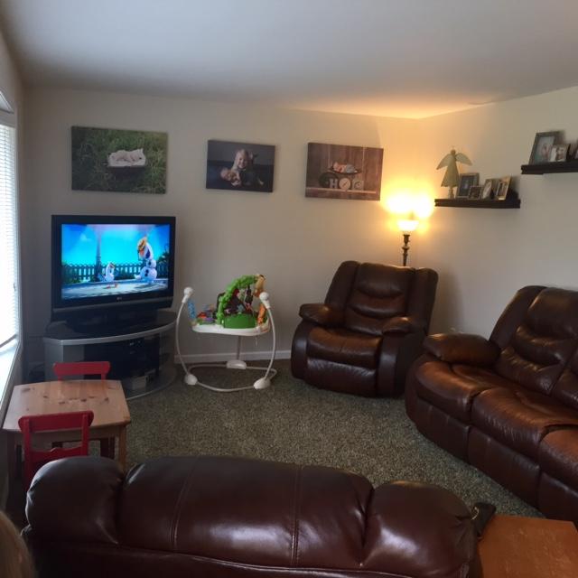 Farmhouse Rehab Affordable Living Room Makeover