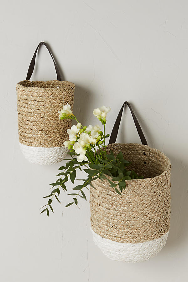 Farmhouse Style Hanging Baskets