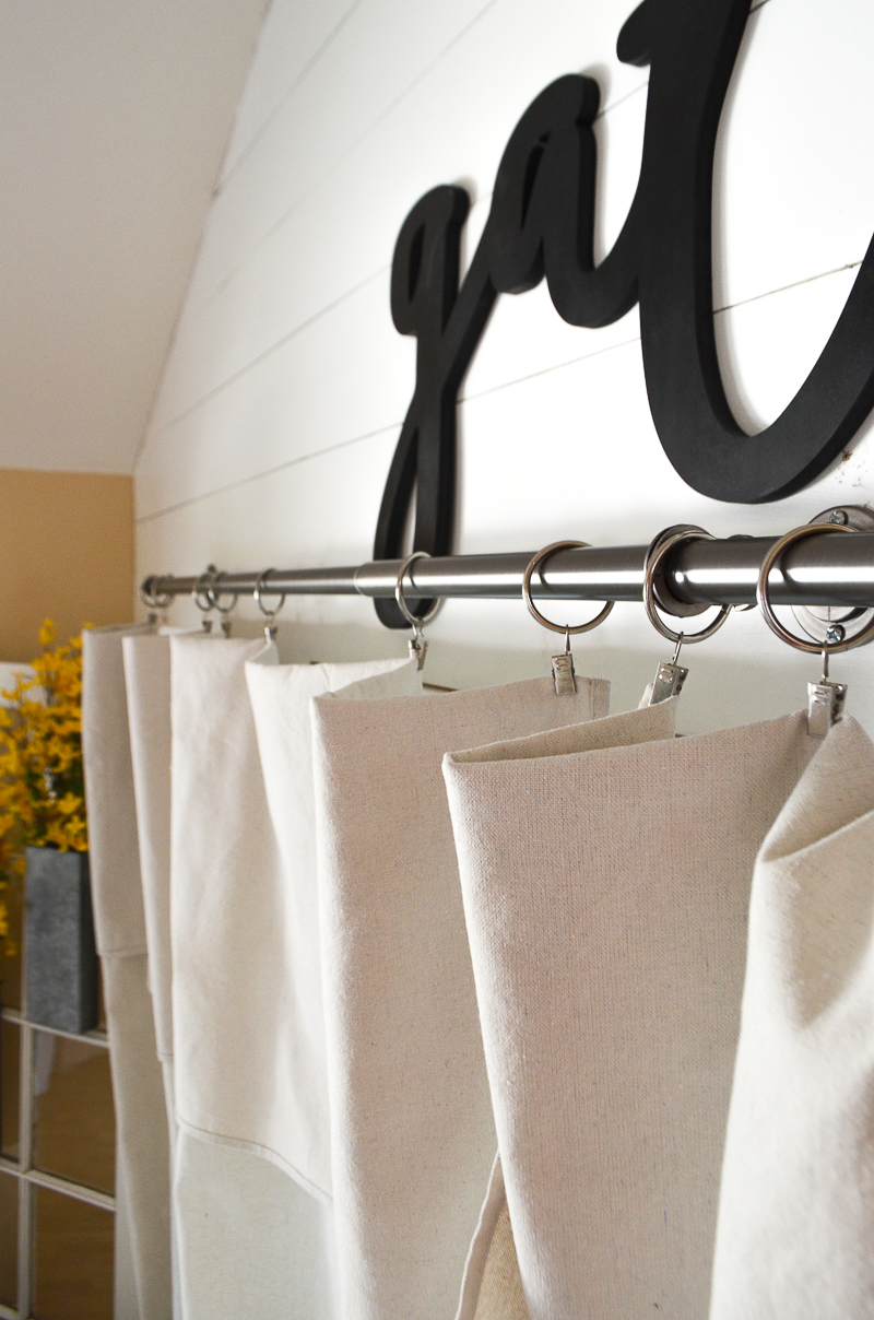 Drop Cloth Curtains Tutorial Step By Step Drop Cloth Curtain Tutorial