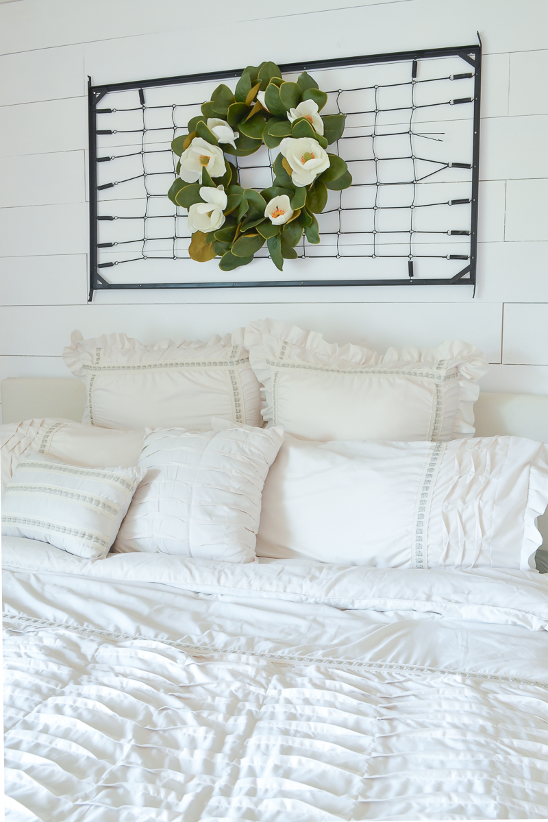 Farmhouse style master bedroom