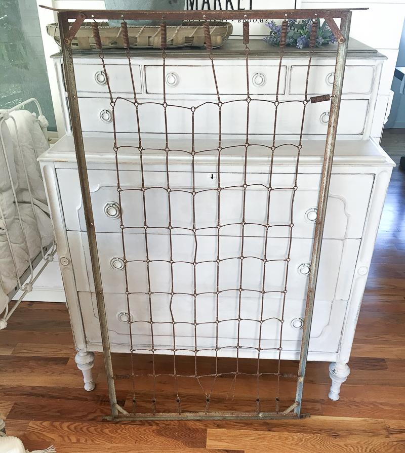 Vintage Crib Frame and A Bedroom Update-14 - Little Vintage Nest