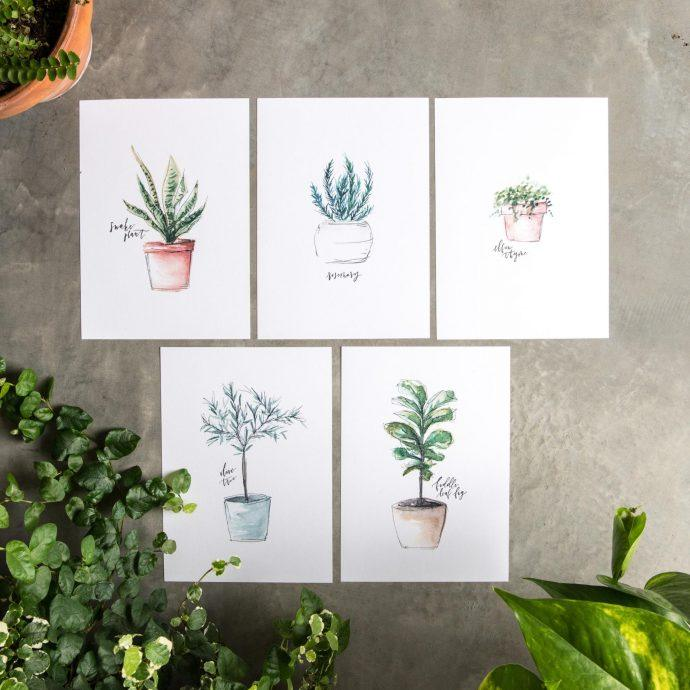 Free plant printable from Magnolia Market