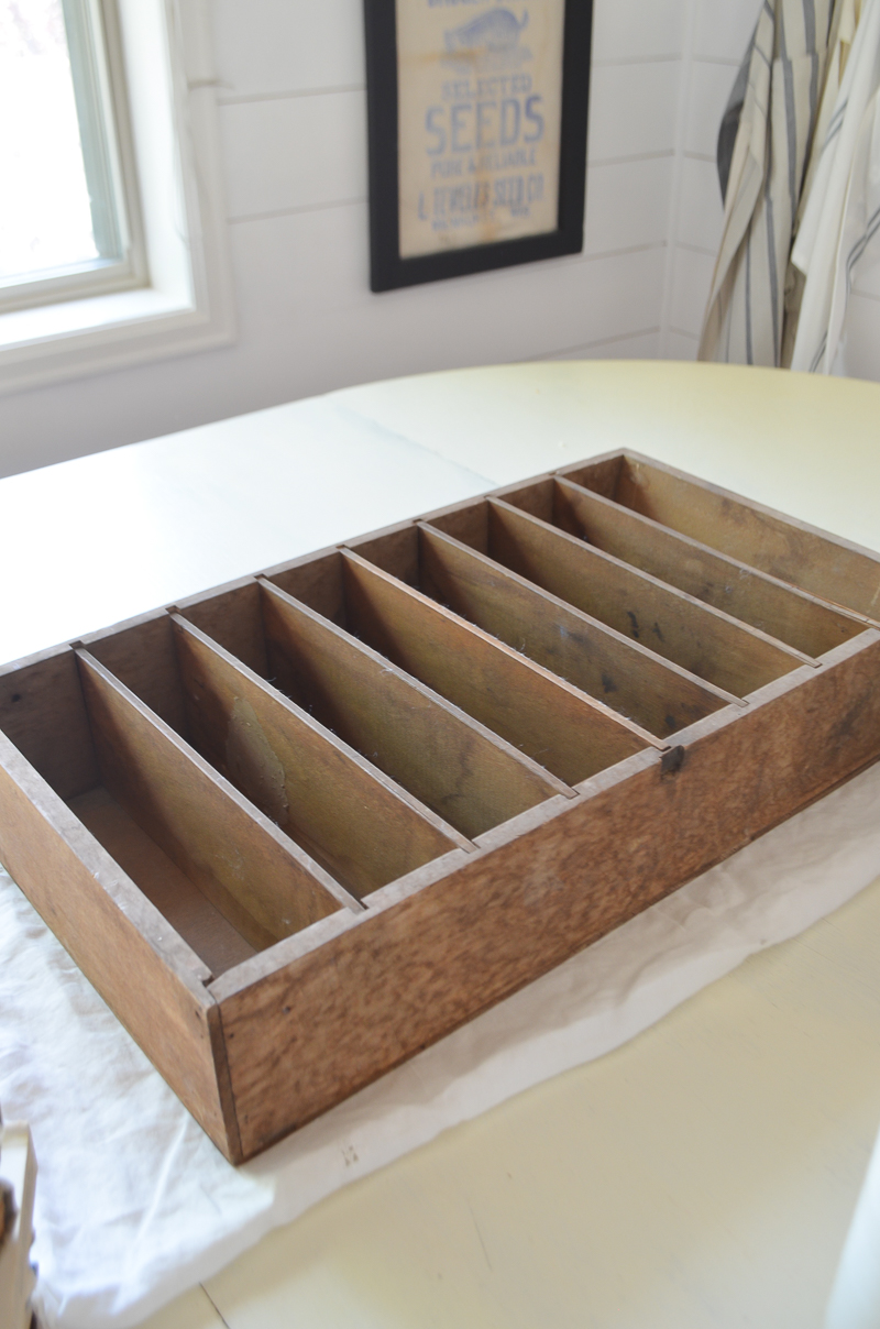 How to Style a Vintage Crate