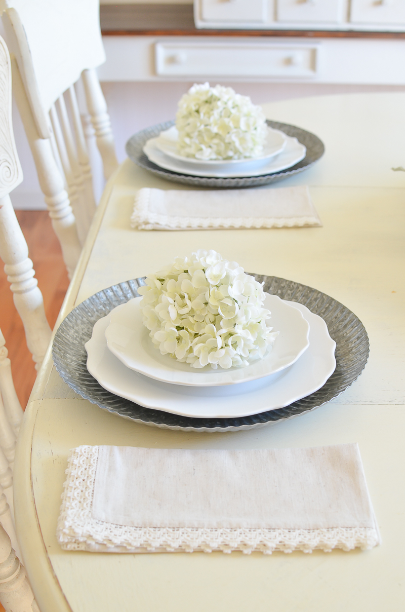 Table Linens New Chargers Real Talk