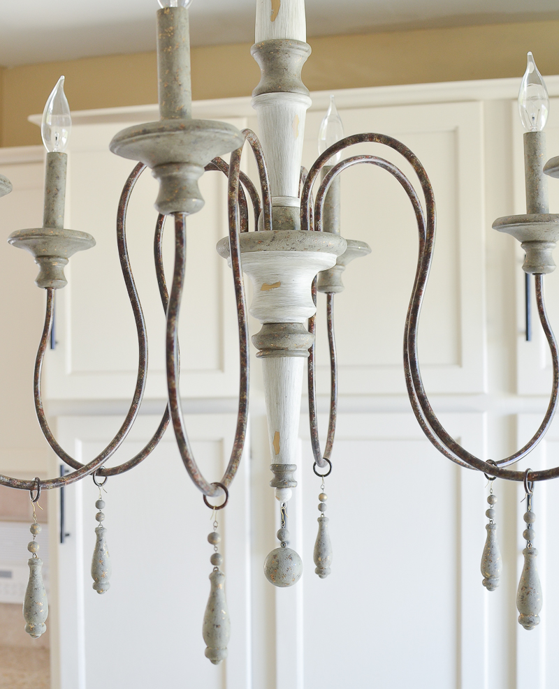 Farmhouse style chandelier
