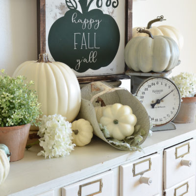 New Signs for Fall + A Few Random Tidbits