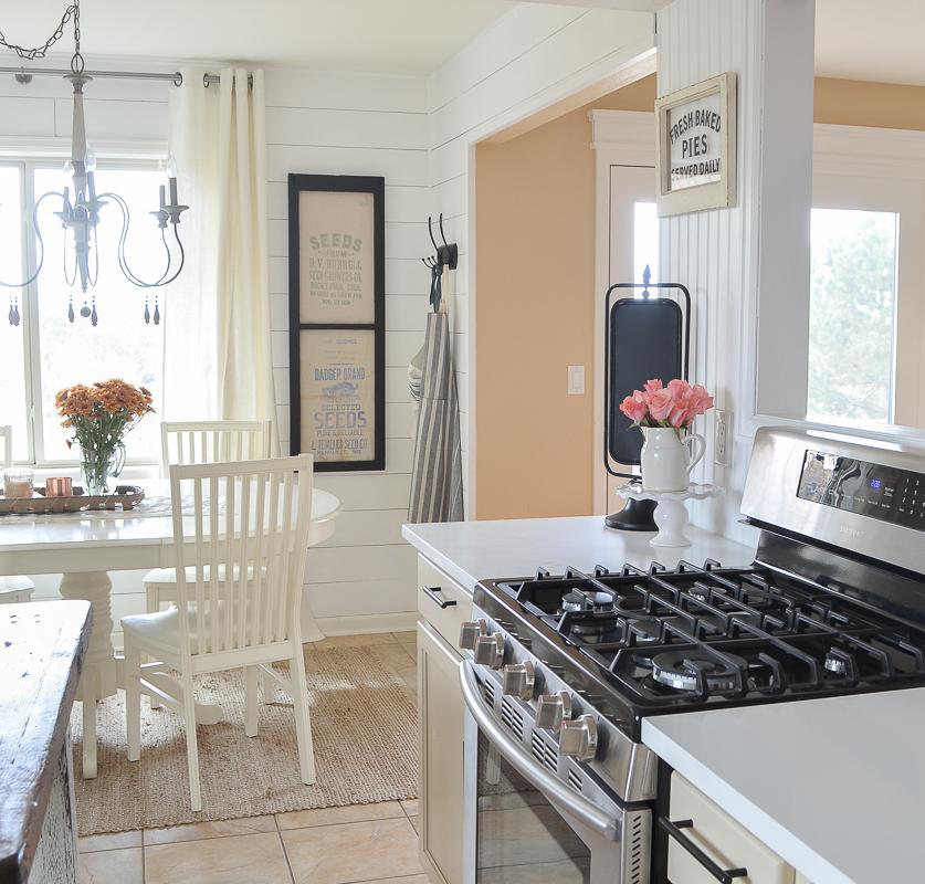 Lora S Vintage Style Kitchen Makeover: Farmhouse Style Kitchen Makeover