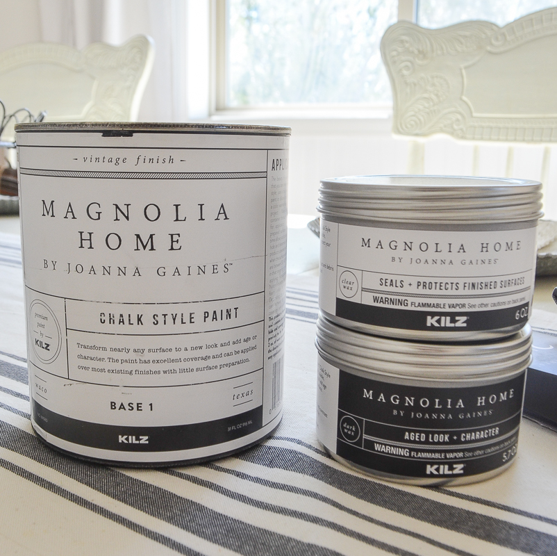 A Full Review of Magnolia Home Chalk Style Paint and Wax. Demo and comparison with other chalk paints!