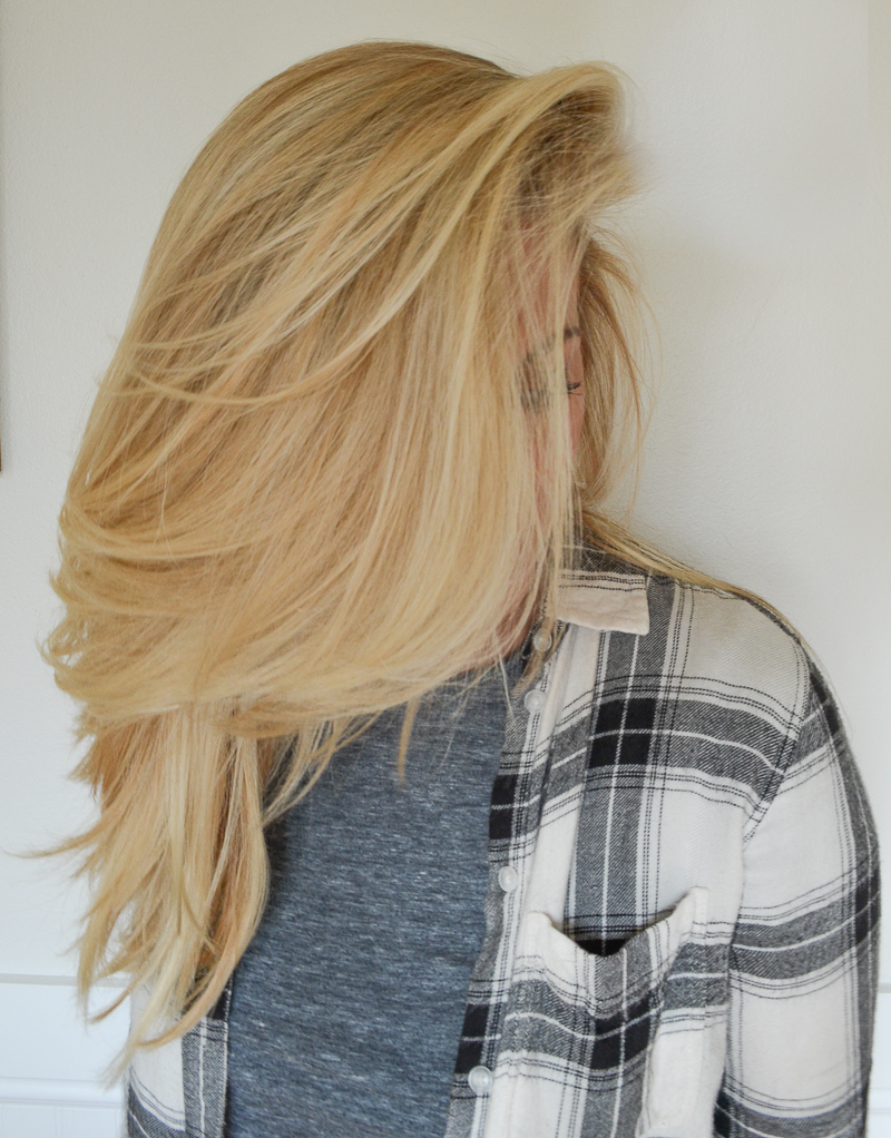 My Go-To Volumized Hair: A Step by Step Tutorial