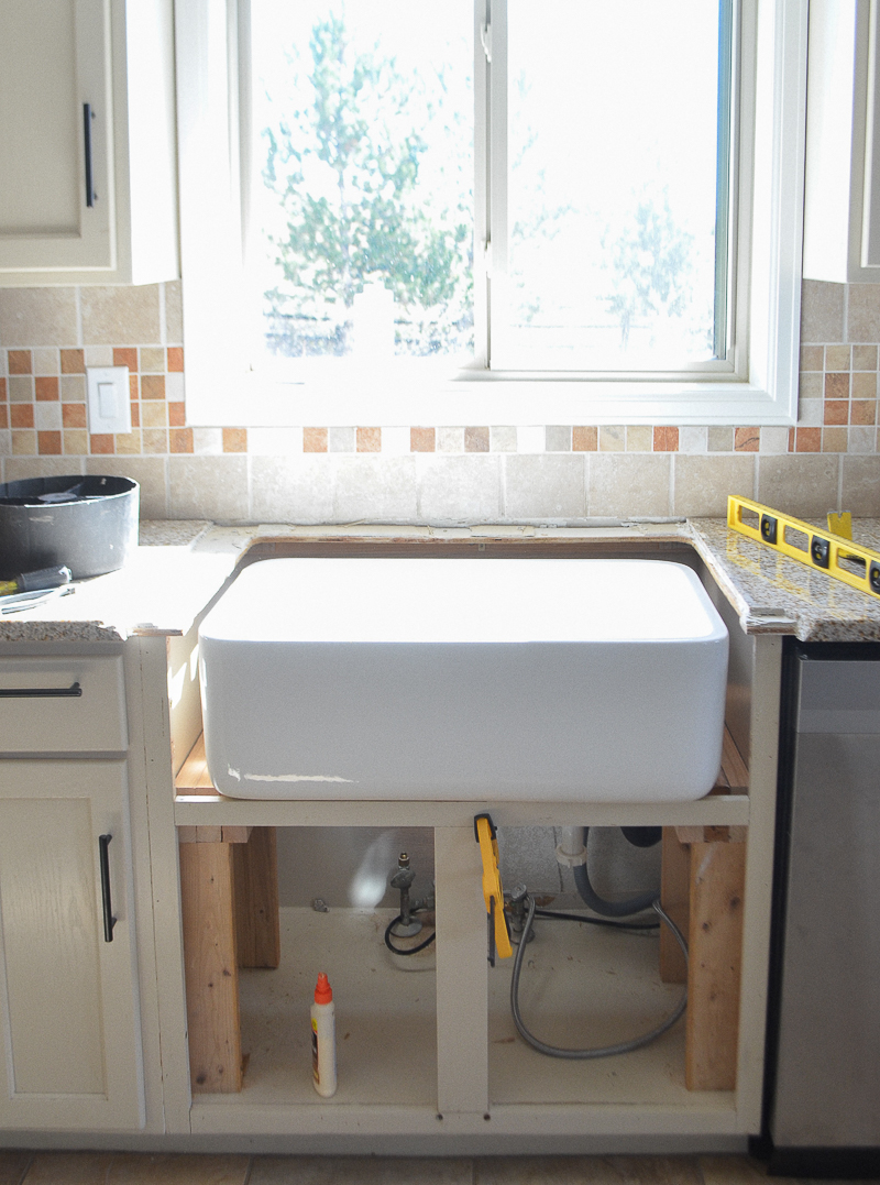 Kitchen Sink Opening Size