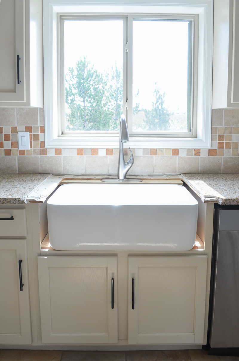 Installing A New Kitchen Sink