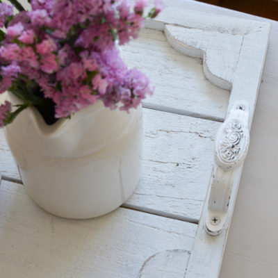 Easy DIY Farmhouse Tray