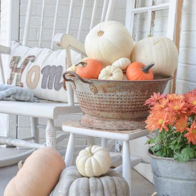 A Simple Fall Porch + A Few Favorites