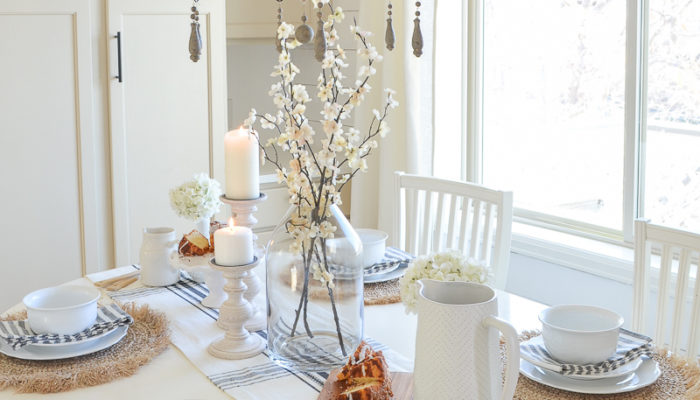 A Rustic Brunch Tablescape