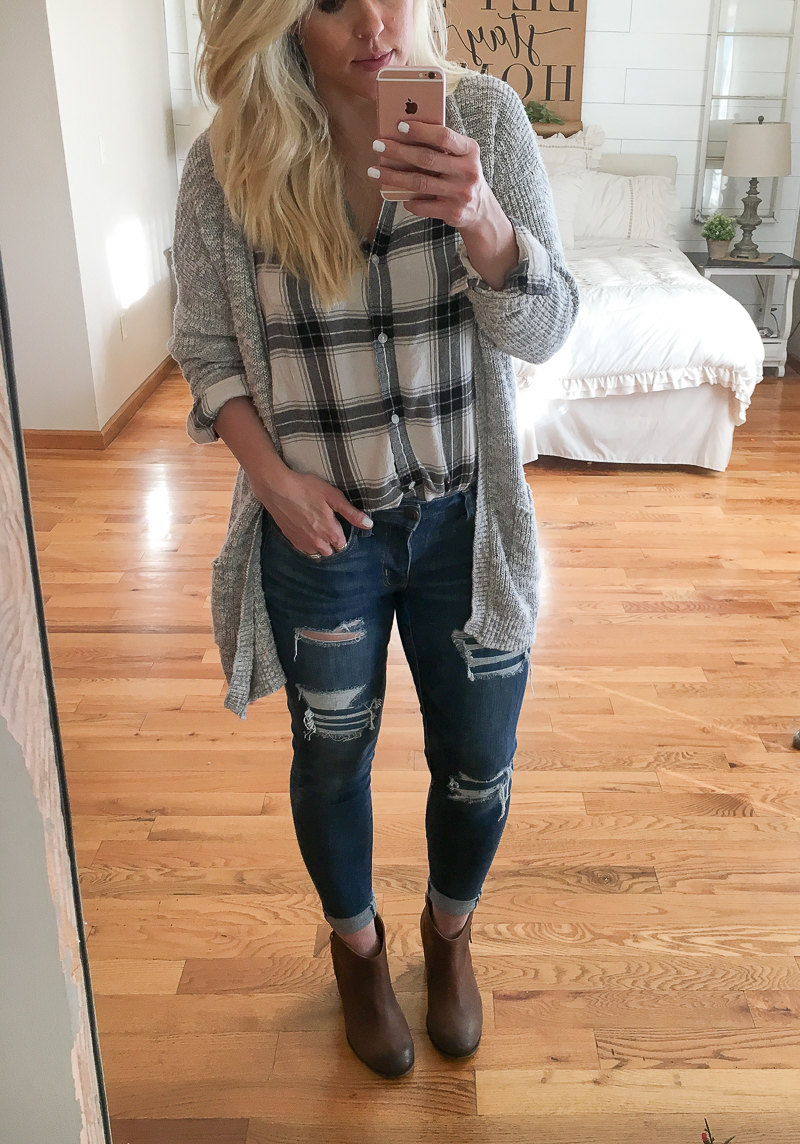 Cozy outfit for fall and winter