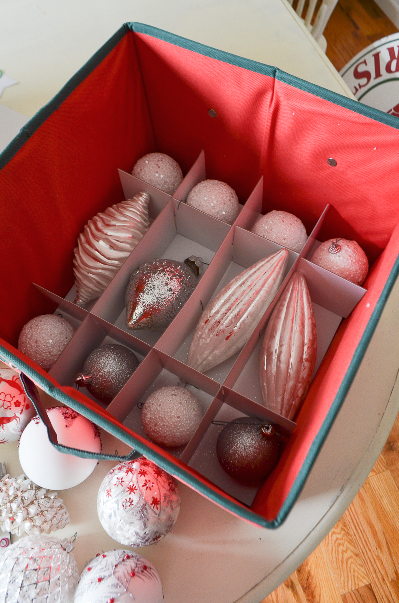 How to Organize and Store Christmas Decor