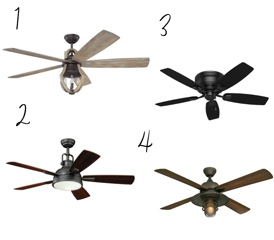 Affordable Farmhouse Style Ceiling Fans