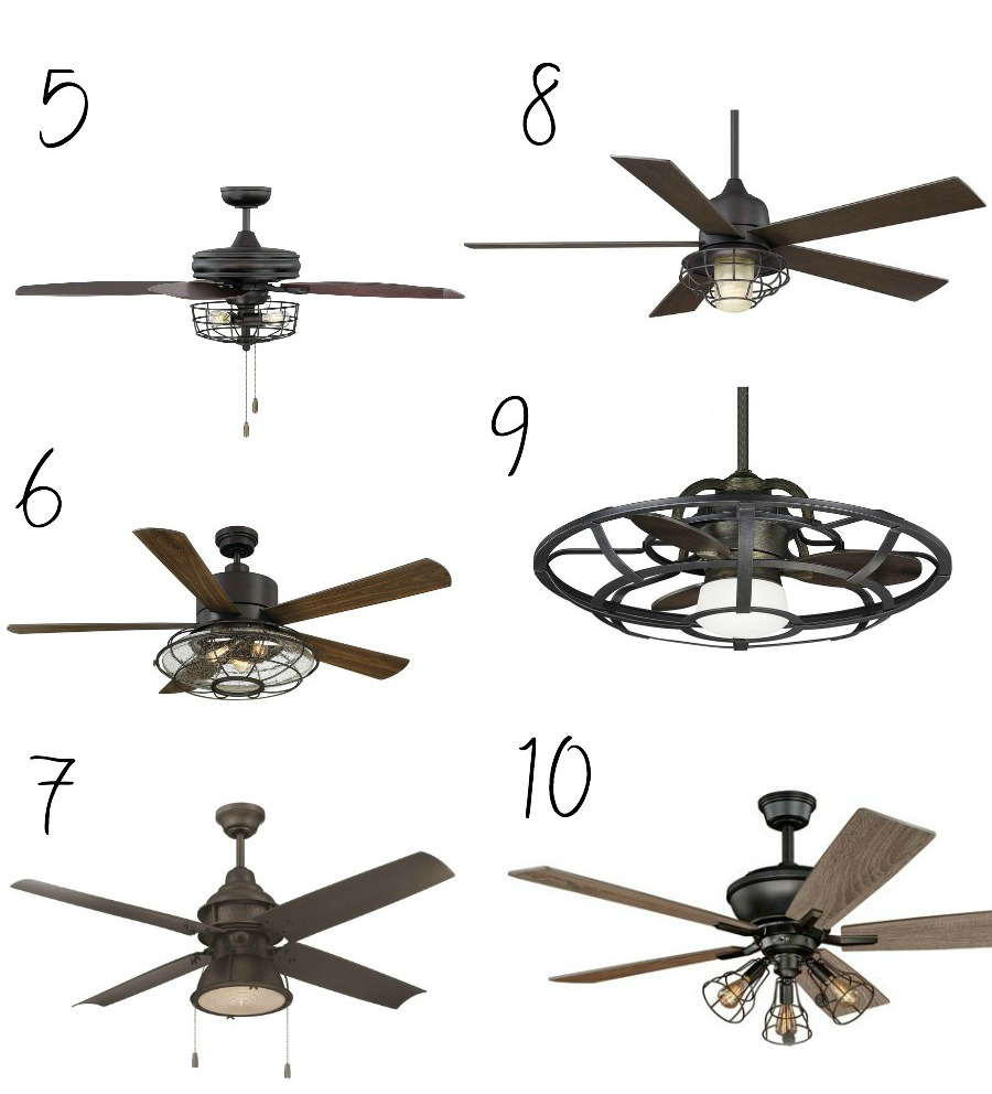 Gifts For A Farmhouse Decor Fan: 10 Affordable Farmhouse Style Ceiling Fans