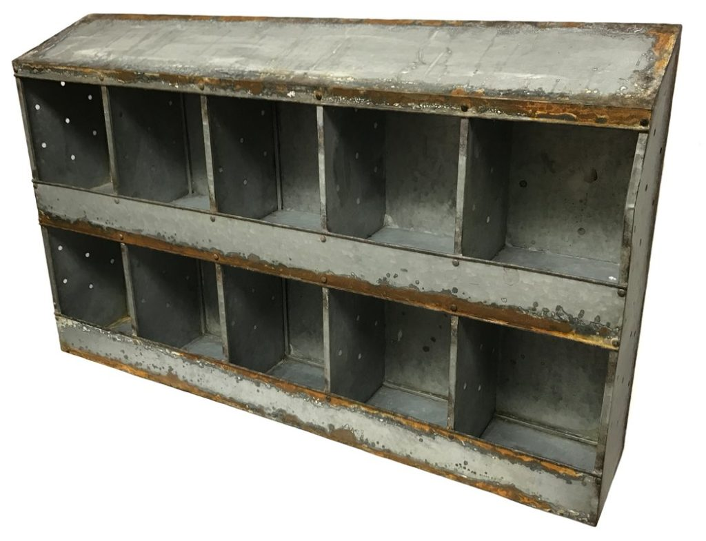 Farmhouse chicken coop wall shelf