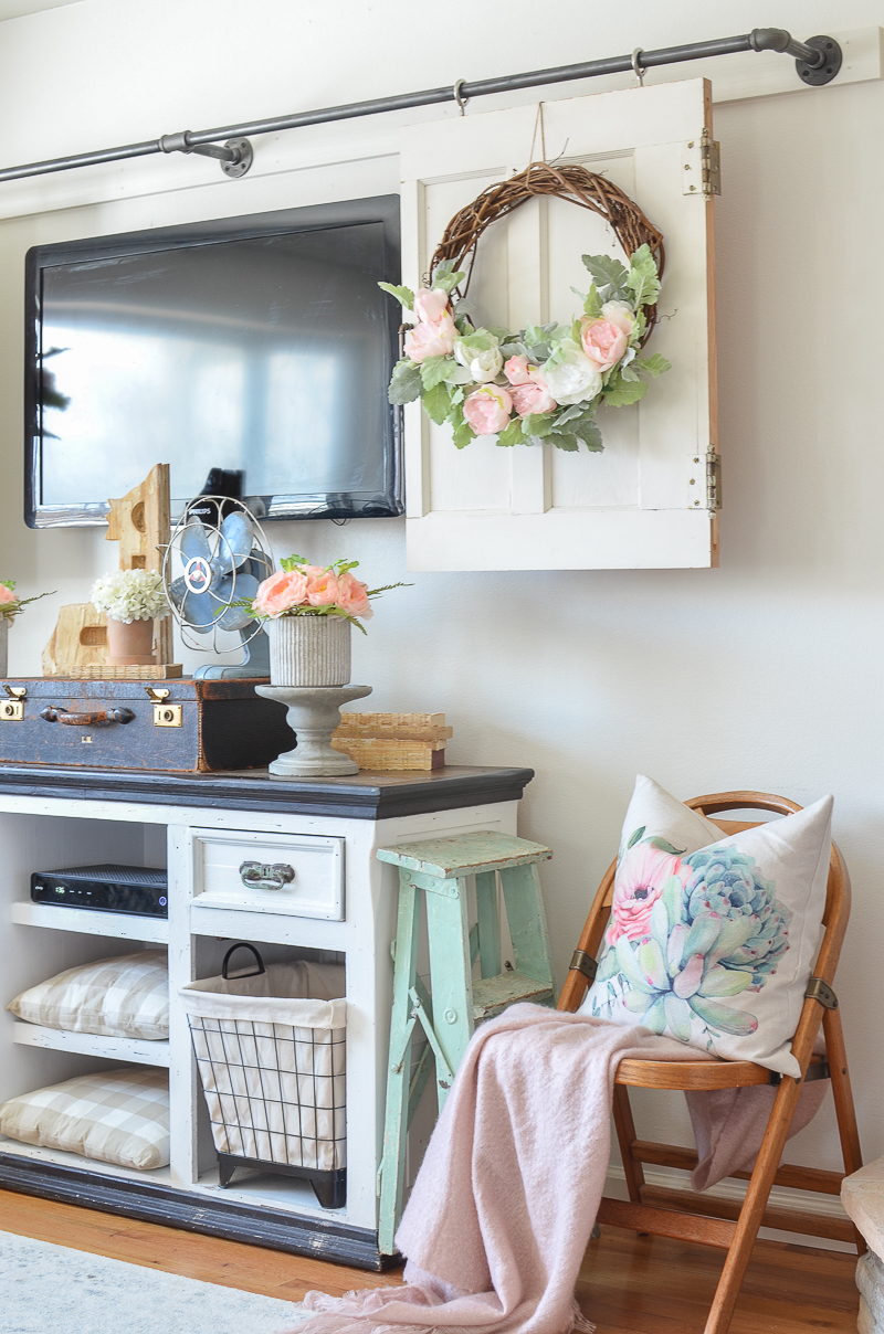 Spring Refresh in the Living Room