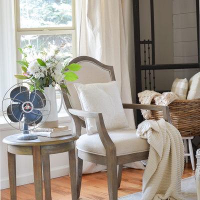 Spring Front Room Furniture Update