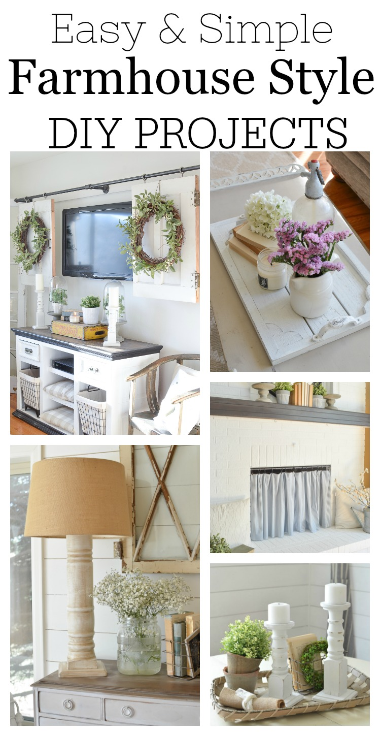 pinterest diy home decor easy diy farmhouse decor projects 11691