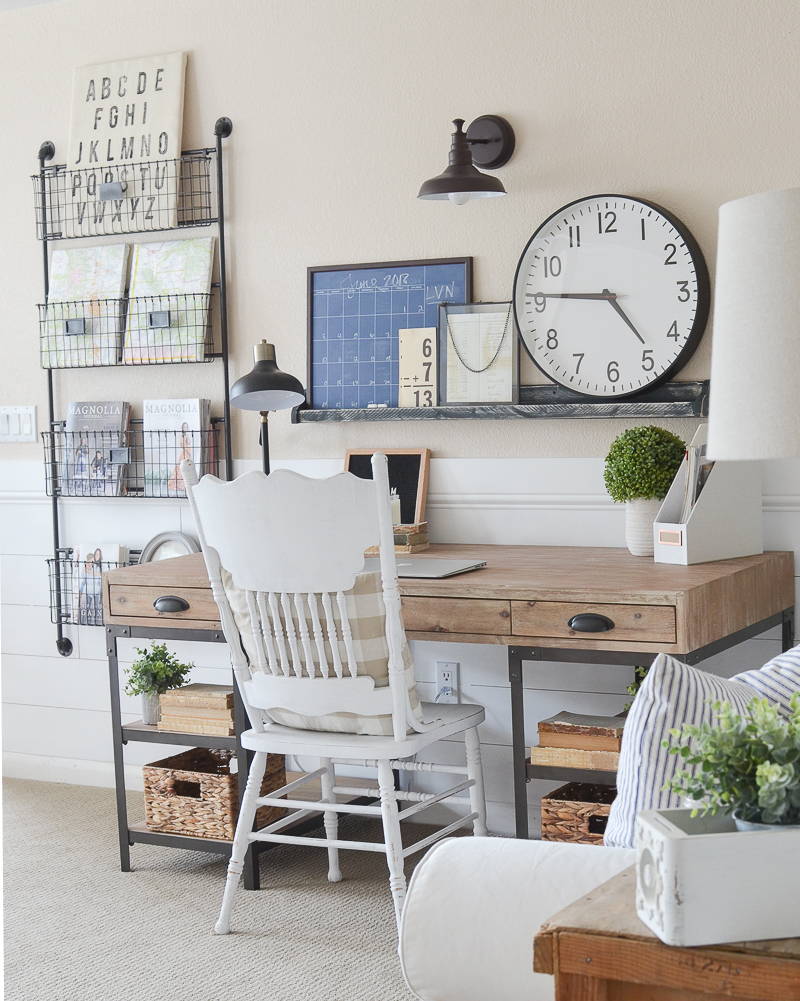 home office decor 2018 farmhouse style home office 11547