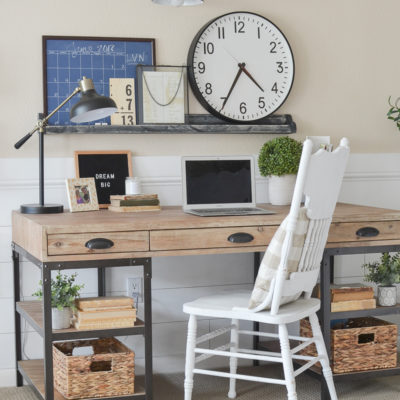 Farmhouse Style Home Office Reveal!