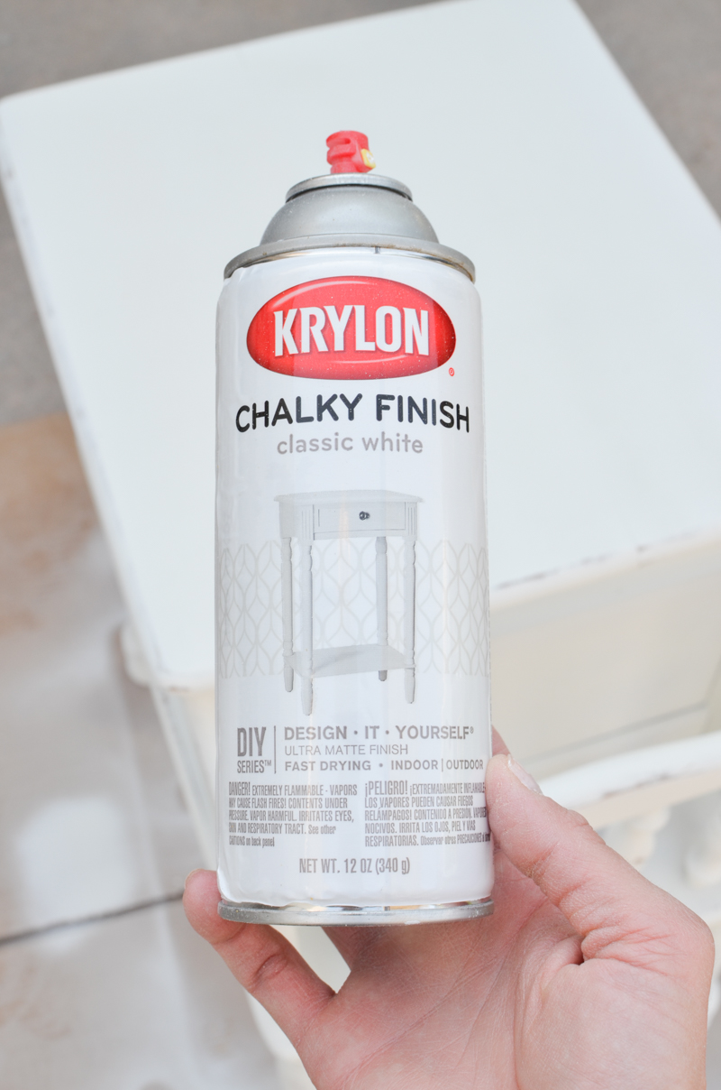 Review of the Krylon Chalky Spray Paint and Wax