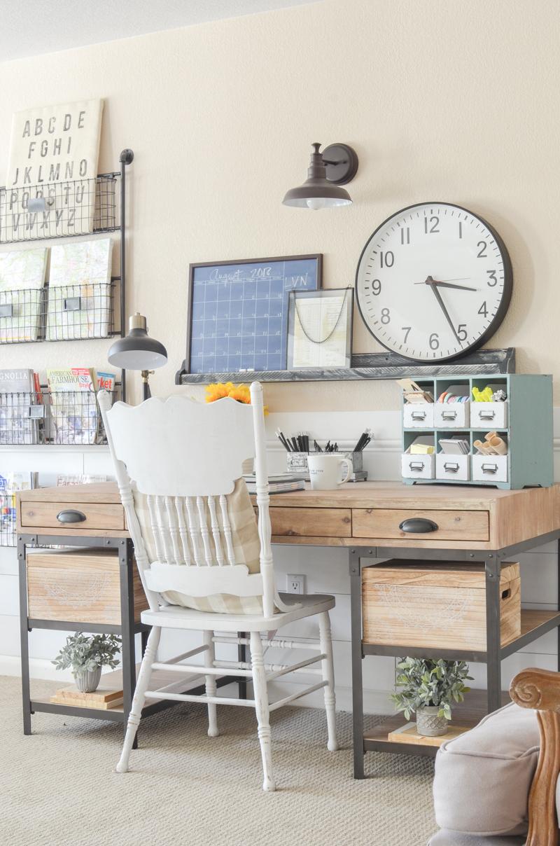 Desk Office: An Organized Desk For Fall