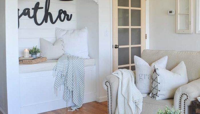 New French Door in the Living Room!
