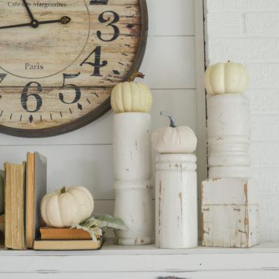 Easy DIY Vintage Pumpkin Stand